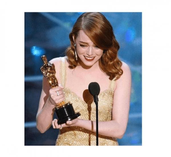 Emma Stone Oscar a Mejor Actriz por La La Land