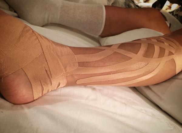 Paulina Rubio sufre una lesión