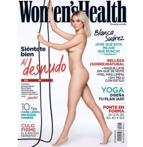 Blanca Suárez portada de la revista Women´s Health