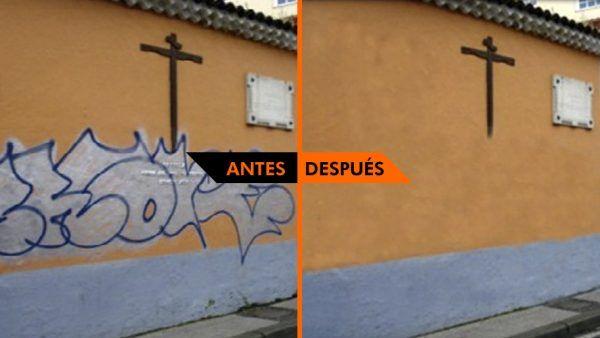 6 trucos para limpiar f cilmente graffitis consejos curiosos - Como limpiar grafitis ...