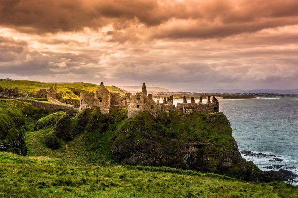 Cañadas de Atrim en Irlanda