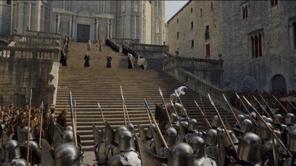 Catedral de Girona en Juego de Tronos
