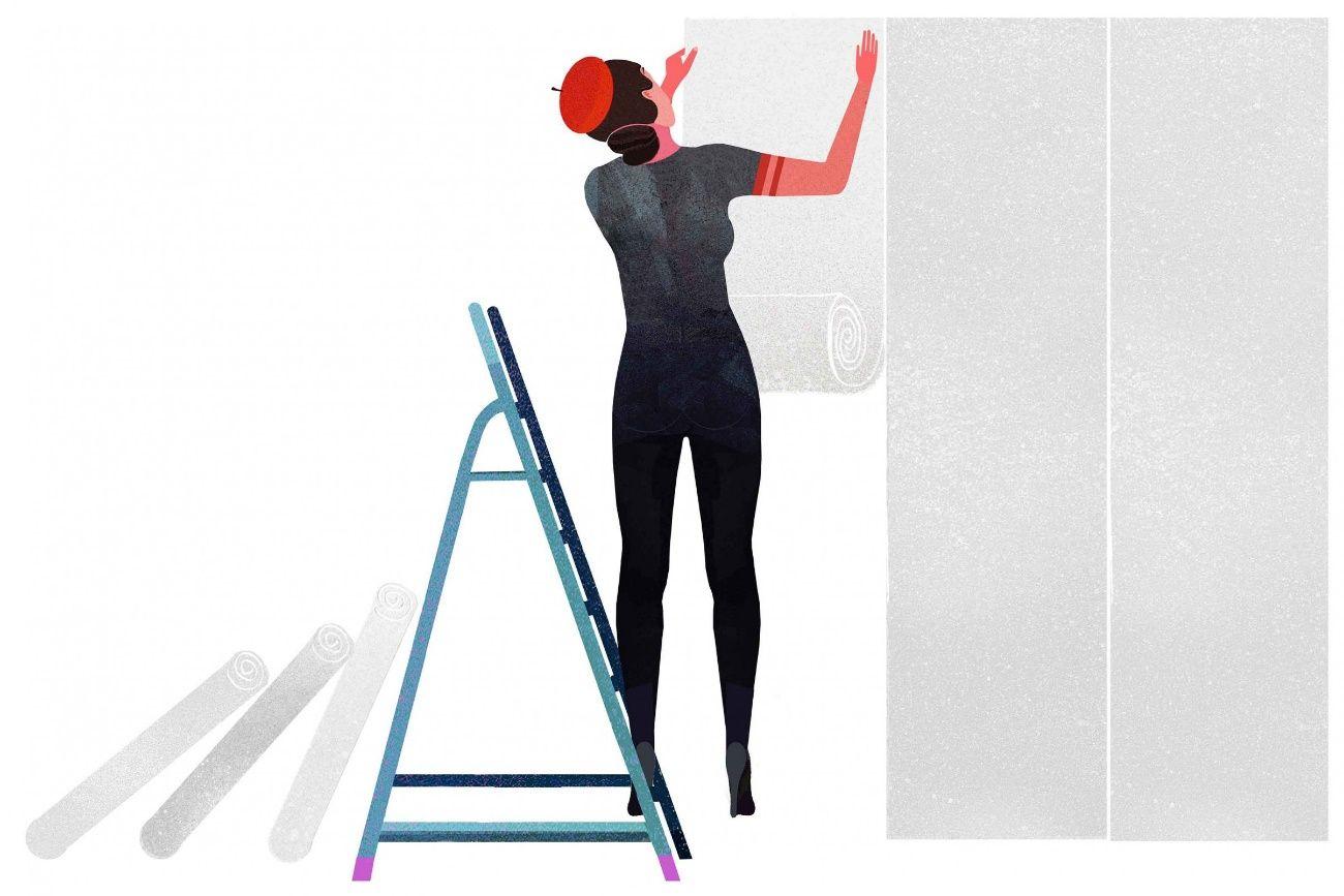 Como Colocar Papel Pintado